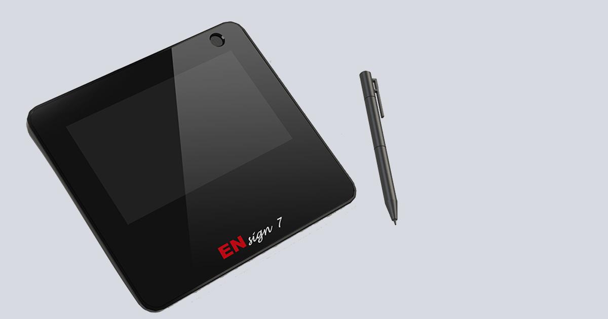 Euronovate ENsign7 Signature Pad | ENSign7 Signature Pad