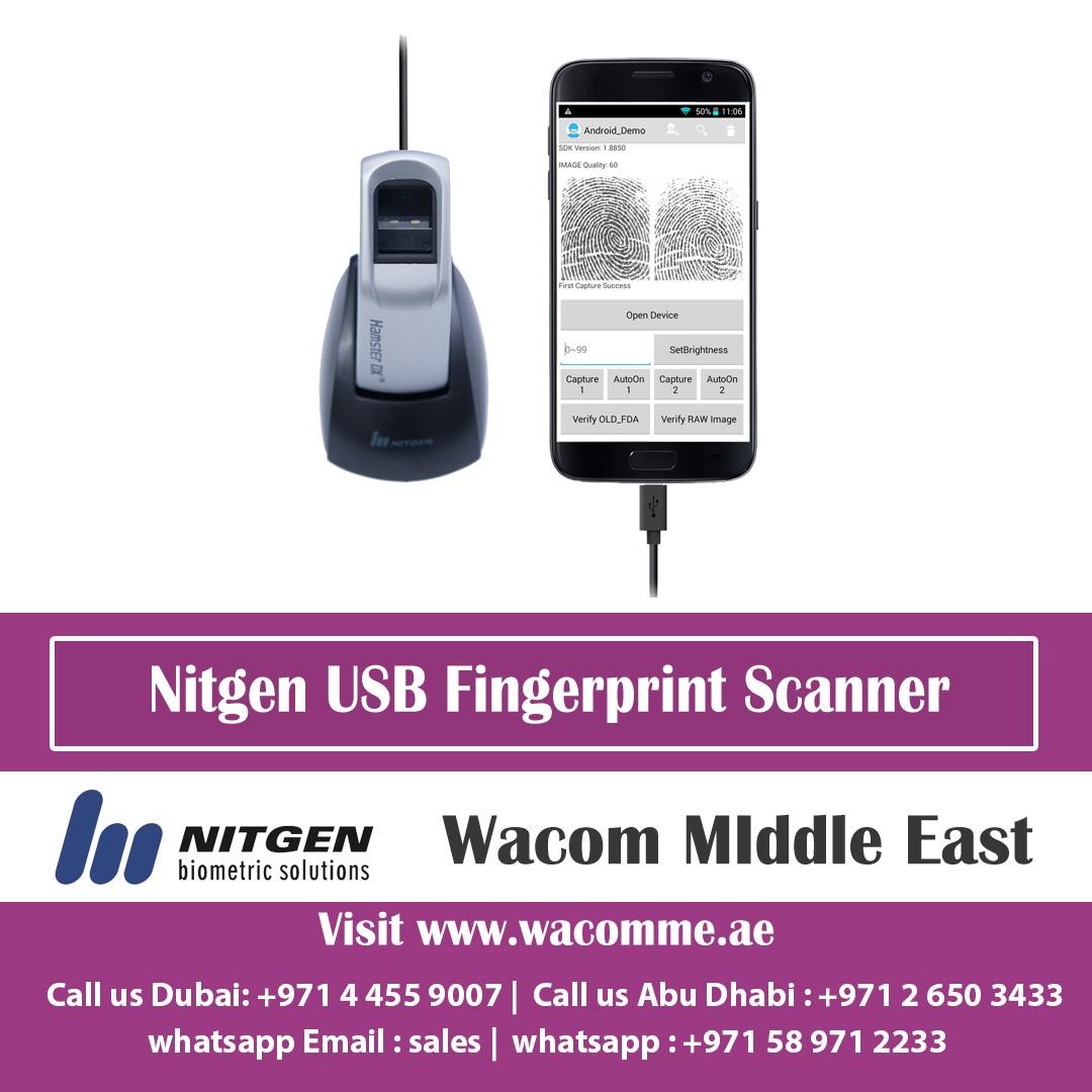 USB Fingerprint Scanner | Live Finger Detection | USB Finger